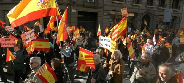 de marzo en Barcelona españolista