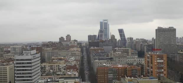 Panorámica de Madrid.