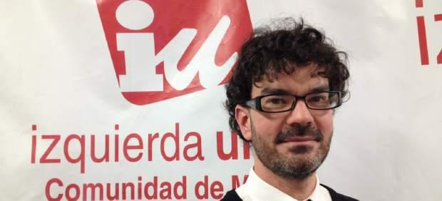 Eddy Sánchez, nuevo coordinador general de IU-CM