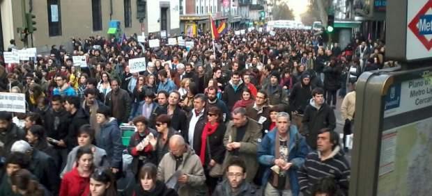 marzo de 'Juventud sin Futuro'