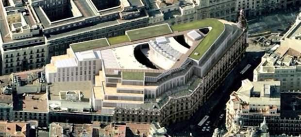 Recreación Canalejas Square, después de su reforma