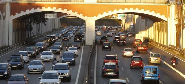 El tráfico en Madrid