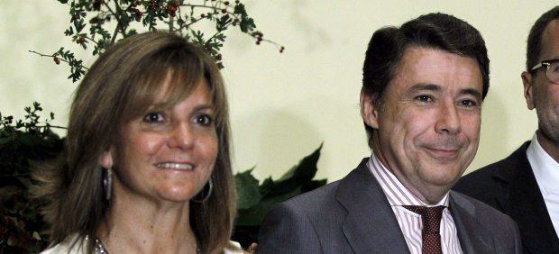 Ignacio González y Lourdes Clavero
