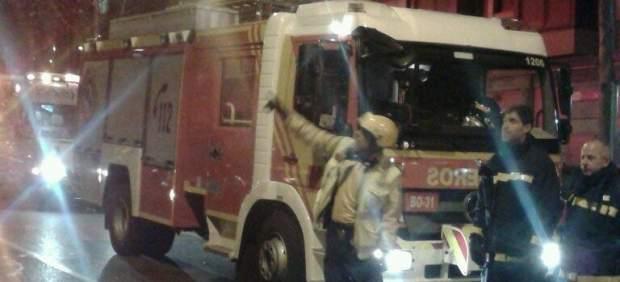 Fuego en Madrid