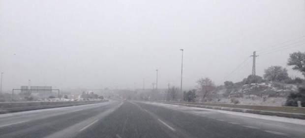 nieves en Madrid