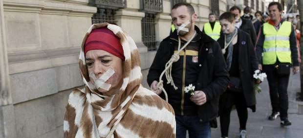 Manifestación 'Todos somos cultura'
